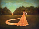 Unwinding the Path to Self-Discovery Premium gicléedruk van Duy Huynh