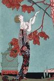 Illustration de mode, 1914 Poster par Georges Barbier