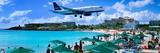 Happy Landings on St. Maarten Photographic Print by Steve Vaughn