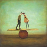 Finding Equilibrium Poster di Duy Huynh