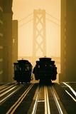 Cable Cars, San Francisco Fotografie-Druck von Mitchell Funk