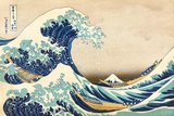 The Great Wave off Kanagawa Posters af Katsushika Hokusai