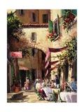 Piazza Prints by Art Fronckowiak