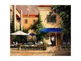 Café Bar Poster by Art Fronckowiak