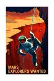 Explorers Wanted Posters van  NASA