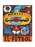 La Mascota del Mundial Prints by Jorge R. Gutierrez