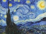La nuit étoilée Posters par Vincent van Gogh