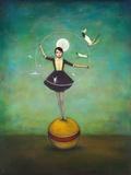 Luna's Circle Kunstdruck von Duy Huynh