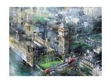 London Green - Big Ben Affischer av Mark Lague