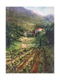 Tuscany Vineyard Print by Art Fronckowiak