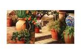 Turo Tuscan Orange Art by Art Fronckowiak