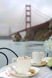 Dream Cafe Golden Gate Bridge 6 Reproduction photographique par Alan Blaustein