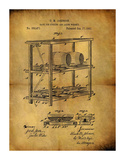 Aging Whiskey 1882 Giclee Print by Dan Sproul