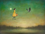 Blue Moon Expedition Premium gicléedruk van Duy Huynh
