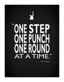Creed One Punch Reproduction procédé giclée par Mark Rogan
