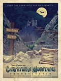 Dracula - Universal Monsters Vintage Travel Lithograph Posters
