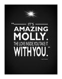Ghost Its Amazing Molly Impressão giclée por Mark Rogan
