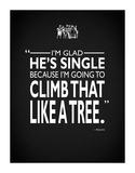 Bridesmaids Climb Like A Tree Impressão giclée por Mark Rogan