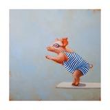 The Plunge Poster von Lucia Heffernan
