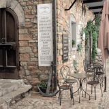 Varenna Caffe1 Photographic Print by Alan Blaustein