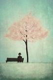 The Cherry Tree - Spring Poster von Maja Lindberg