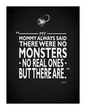 Aliens - No Monsters Giclée-tryk af Mark Rogan