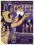 The Mummy - Universal Monsters Vintage Travel Lithograph Posters