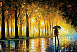 Bewitched Park Prints by Leonid Afremov