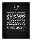 The Blues Brothers -Sunglasses Giclée-Druck von Mark Rogan