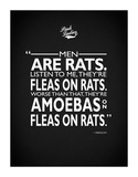 Grease Men Are Rats Impressão giclée por Mark Rogan