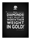 SomeLike It Hot Real Diamonds Impressão giclée por Mark Rogan