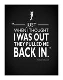 Godfather Pulled Me Back In Reproduction procédé giclée par Mark Rogan
