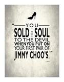 Sold Your Soul To The Devil Impressão giclée por Mark Rogan