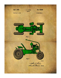 Tractor 1953 - II Giclee Print by Dan Sproul