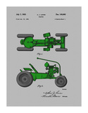 Tractor 1953 Giclee Print by Dan Sproul