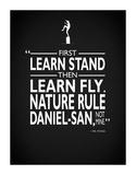 Karate Kid Nature Rule Impressão giclée por Mark Rogan