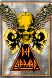 Def Leppard - Bleach and Skulls Photo
