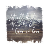 Wild Wishes IV Done in Love Poster by Laura Marshall