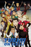 Yuri On Ice - Characters Affiches