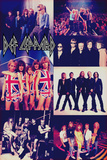 Def Leppard - Photo Collage Prints