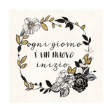Dream Garden Inspiration I Italian Poster par  Wild Apple Portfolio
