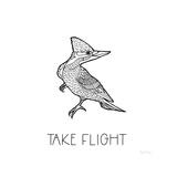 Color the Forest XII Take Flight Poster par Elyse DeNeige