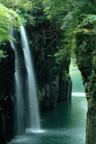 Waterfall Miyazaki Japan Photographic Print by  Panoramic Images