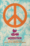 Woodstock - Peace Poster