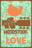 Woodstock - Love 高品質プリント