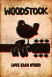 Woodstock - Love Each Other Affiches