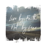 Wild Wishes II Live by Faith Art by Laura Marshall