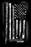 CBGB & OMFUG  - USA Flag Posters