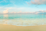 Waves on the beach, Seven Mile Beach, Grand Cayman, Cayman Islands Photographic Print