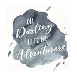 Watercolor Wanderlust Adventure I Prints by Laura Marshall